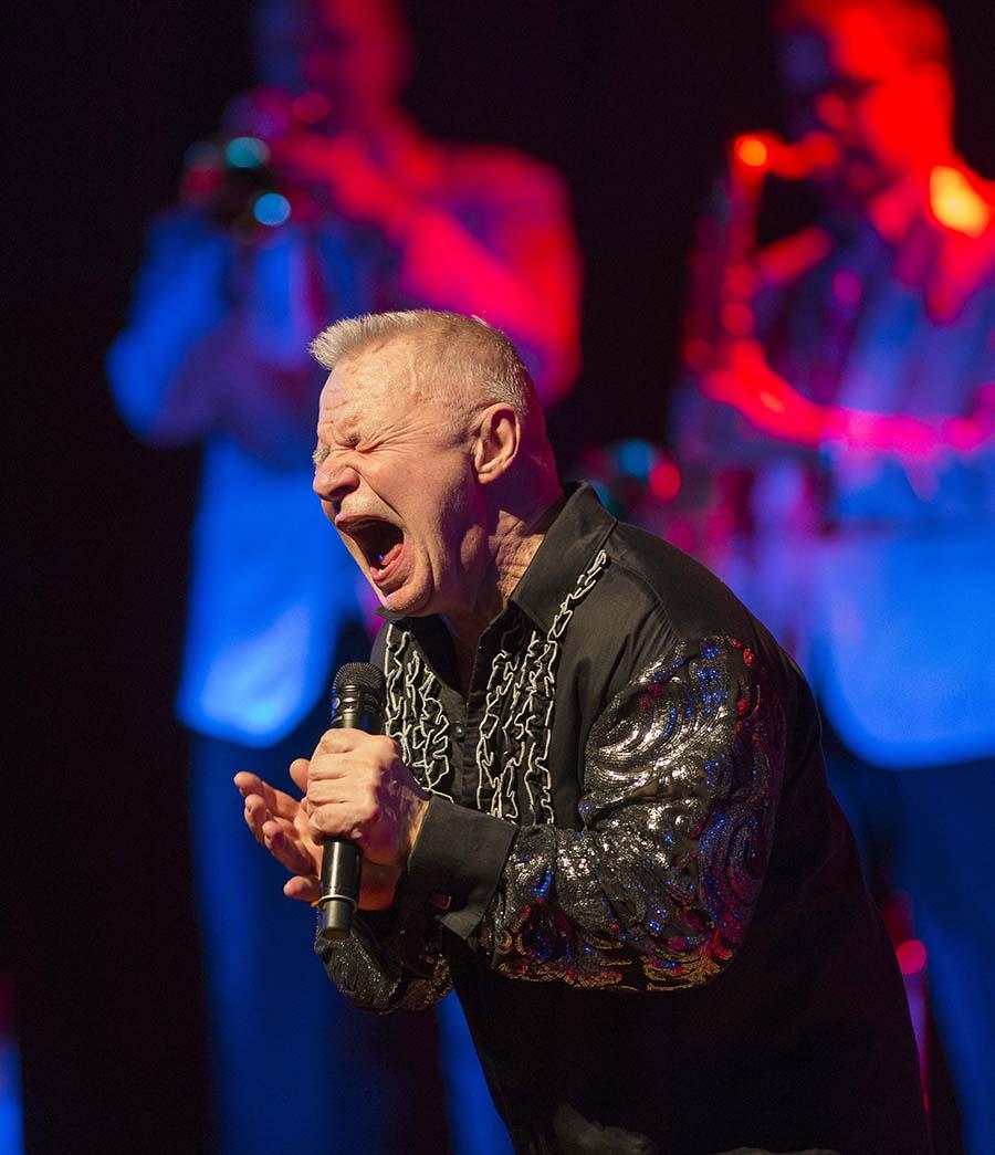 Västers 20170211 Jerry Williams körde på för fulla hus på konserthuset i Västerås. Foto Peter Krüger